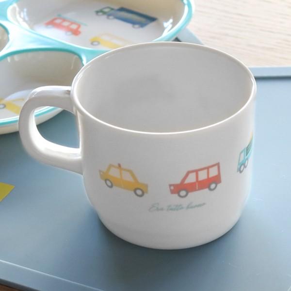 マグカップ 200ml プライマルシリーズ CAR コップ メラミン樹脂 ( マグ カップ 軽い 子供 子ども用 食器 スープカップ 子供用 子ども 用