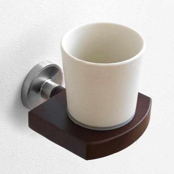 コップ BISK MADAGASKAR タンブラー ビスク うがいコップ 洗面 ( 歯みがきコップ スタンド 壁付け セラミック タンブラースタンド コッ