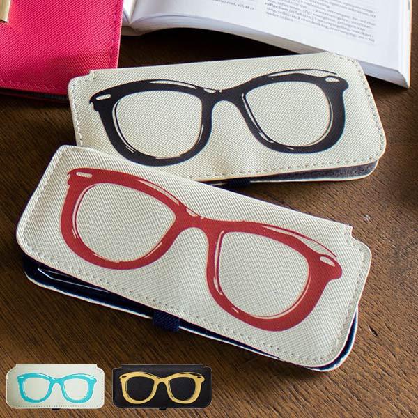 メガネケース スリム メガネ柄 おしゃれ 眼鏡ケース Calmo カルモ ( メガネ ケース プレゼント 眼鏡 めがね 眼鏡入れ メガネ入れ 人気