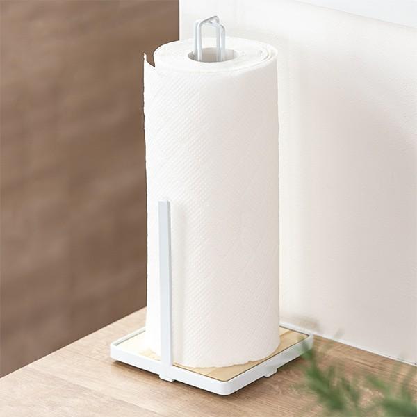キッチンペーパースタンド ワイヤー製 カフェ風 ナチュレア ( ペーパースタンド ペーパーホルダー キッチンペーパー キッチンペーパーホ
