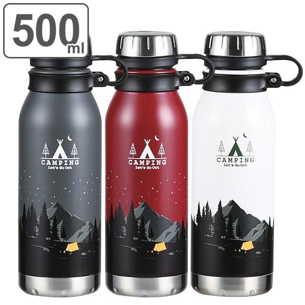 水筒 ステンレス モーメンツ ダイレクトボトル 500ml ( ボトル 保温 保冷 ダイレクト ステンレスボトル マイボトル 500 0.5L ステンレス