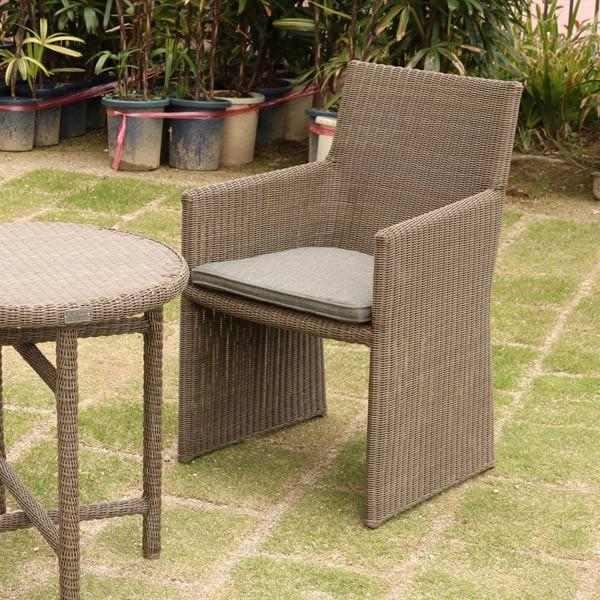 ガーデンチェア アームチェア 1人掛け ( 送料無料 ガーデンチェア ガーデンファニチャー ラタン調 ソファー ガーデン アームチェア ア