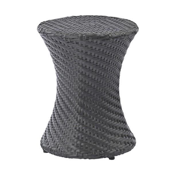 ガーデンスツール 鼓型 ラタン風 Breeze Garden 座面高44cm ( スツール チェア チェアー 椅子 イス 完成品 座面 丸 丸い リゾート テラ