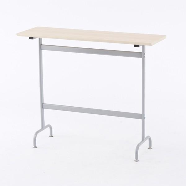 カウンターテーブル スチール製 ハイテーブル リフレッシュ 幅120cm ( 送料無料 テーブル カウンター オフィス 作業台 机 カフェテ