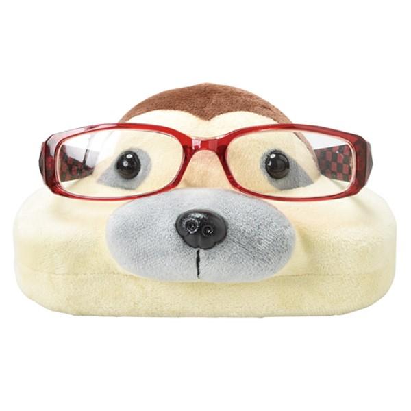 メガネスタンド ナマケモノ 眼鏡ケース 収納 ( メガネ 眼鏡 スタンド ケース ぬいぐるみ 2way めがねスタンド メガネ置き グラススタン