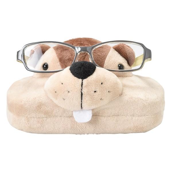 メガネスタンド ビーバー 眼鏡ケース 収納 ( メガネ 眼鏡 スタンド ケース ぬいぐるみ 2way めがねスタンド メガネ置き グラススタンド