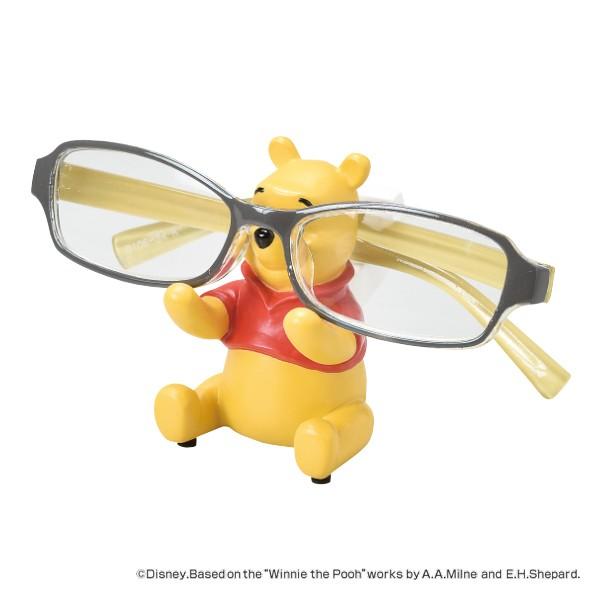 メガネスタンド POOH くまのプーさん ステーショナリー 文房具 ( メガネ立て 眼鏡立て めがね立て メガネ置き めがねホルダー 寝室 洗面