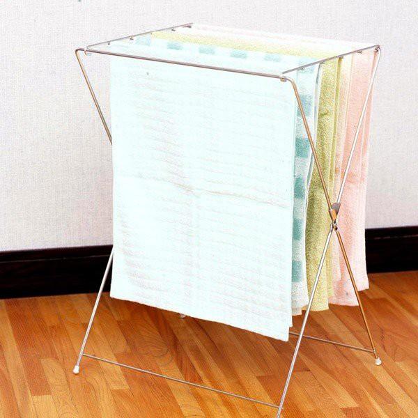 洗濯ハンガー 18-8ワンタッチドライハンガー ( タオル干しハンガー 物干しハンガー タオルハンガー ベランダ物干し タオル 洗濯 タオル