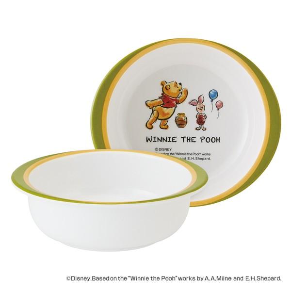 ボウル 13cm メラミン製 くまのプーさん Pooh 食器 キャラクター ( 食洗機対応 小鉢 うつわ 器 割れにくい プーさん 椀 子供 用 子ども