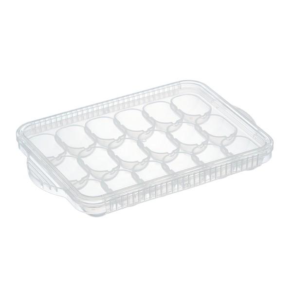 小分けトレー 浅型 離乳食冷凍小分けトレー ベビー 日本製 ( 電子レンジ対応 食洗機対応 離乳食 冷凍 ベビーフード 保存容器 手作り離乳