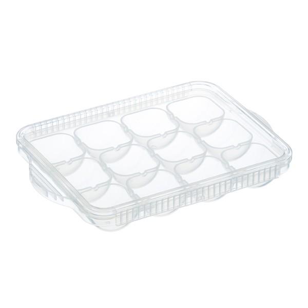 小分けトレー 深型 離乳食冷凍小分けトレー ベビー 日本製 ( 電子レンジ対応 食洗機対応 離乳食 冷凍 ベビーフード 保存容器 手作り離乳