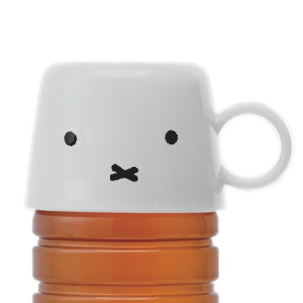 コップ ペットボトルキャップ ミッフィー 140ml ( ペットボトル キャップ ペットボトル用 部品 ブルーナ miffi フェイス 水筒 水筒にな