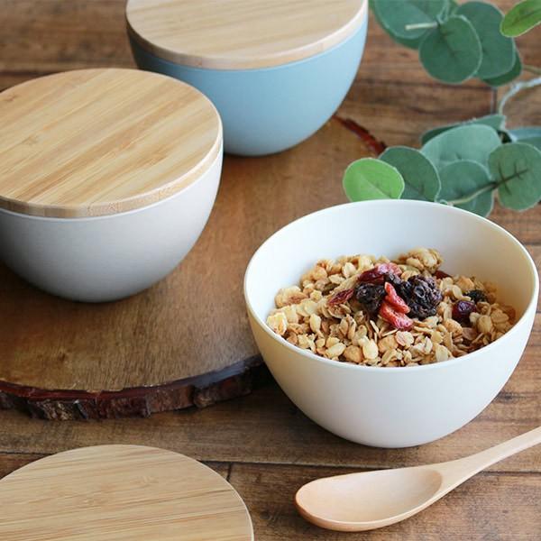 ボウル 12cm プラスチック ナチュラルテーブル Natural Table 皿 食器 洋食器 日本製 ( 電子レンジ対応 食洗機対応 中鉢 フタ付き スタ
