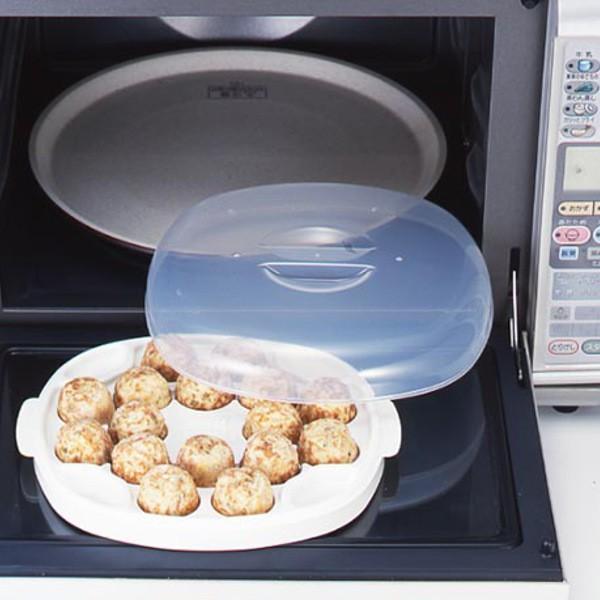 電子レンジ 調理用品 たこ焼き たこチン君 ( たこ焼き器 タコ焼きプレート 冷凍たこ焼き 温め 16穴 16個 調理器具 タコ焼き器 タコ焼き