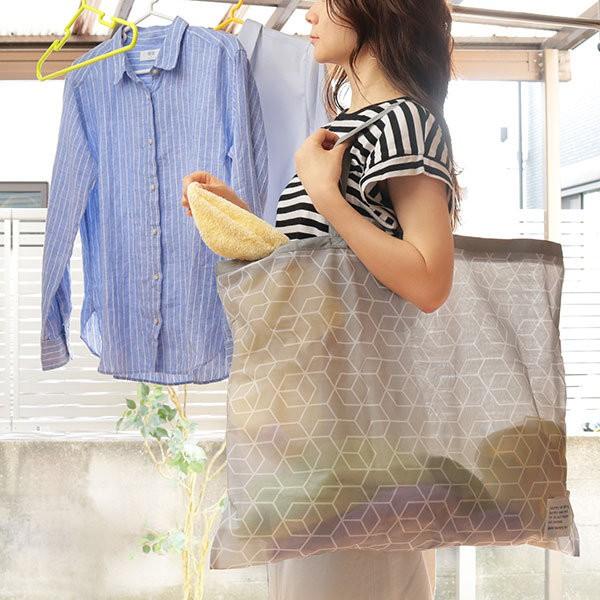 洗濯ネット まるごと洗えるランドリーバッグ L バッグ 洗濯 ネット ( 洗濯用ネット コインランドリー用バッグ 肩掛け 折りたたみ そのま