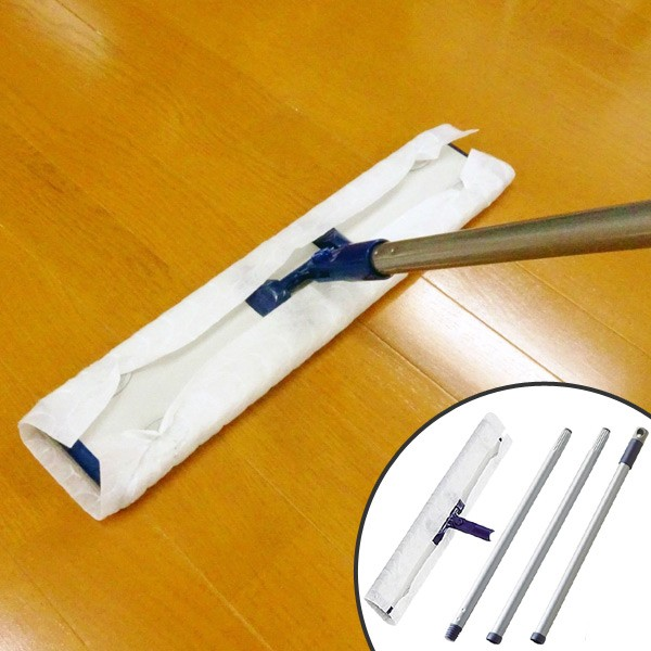 JP ダスターモップ W45 組ミ立テ式 ( 送料無料 ジョイント フロアーモップ 床 業務用 屋内 オフィス 事務所 )