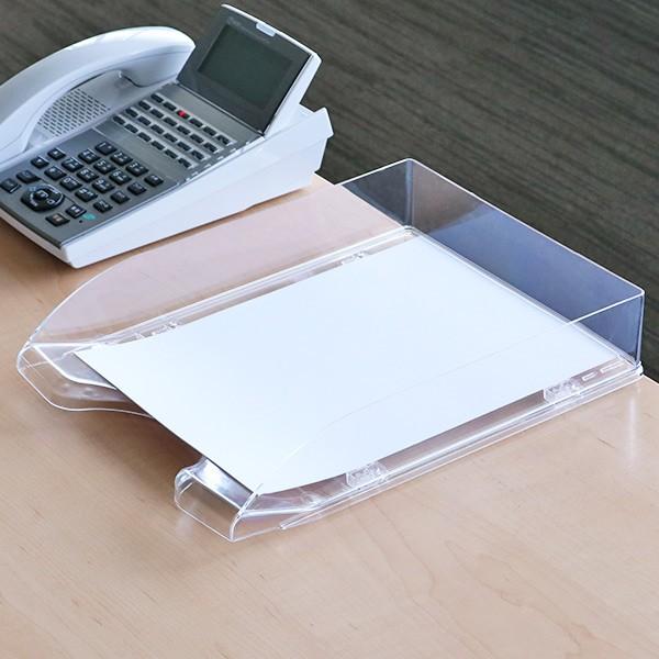 卓上トレー デラックスA4 縦 ( 卓上収納 引き出し 書類ケース 書類 A4 トレー ファイルケース BOX 収納 プラスチック 収納ボックス 卓上