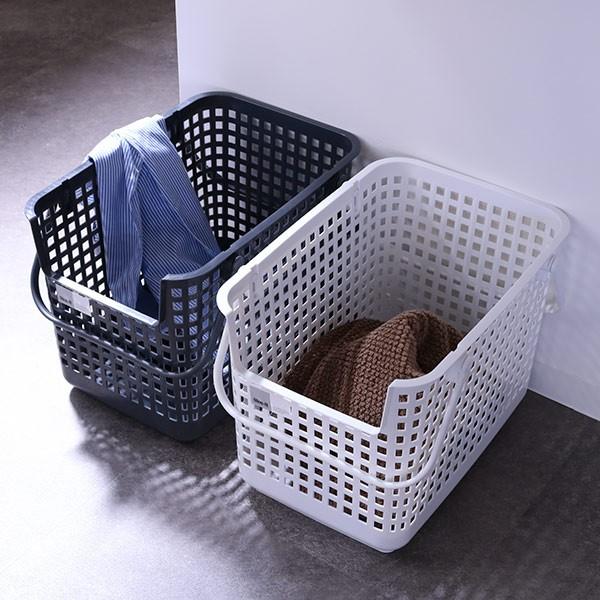 ランドリーバスケット スタッキングベース LBB-06C バイオプラスチック配合 ( 洗濯かご バスケット ランドリーボックス ライクイット li