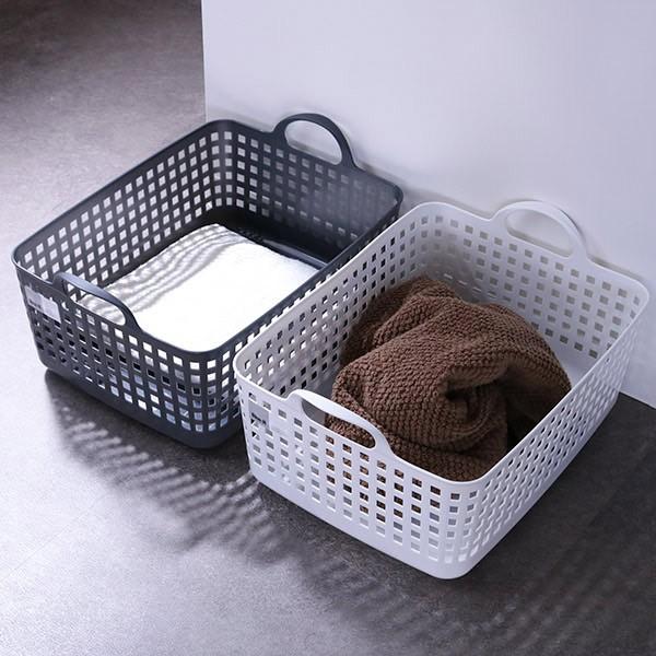 ランドリーバスケット スタッキングトップ LBB-07C バイオプラスチック配合 ( 洗濯かご バスケット ランドリーボックス ライクイット li