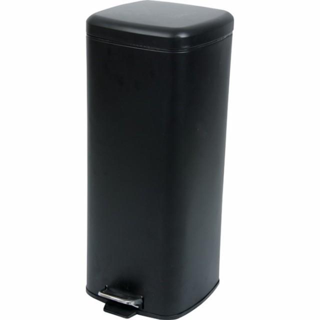 ラパン ゴミ箱 ブラック az-lfs-072bk /ゴミ箱/分別/おしゃれ/ふた付き/屋外/キッチン/リビング/木/密閉/収納/北欧/インテリア/セール/