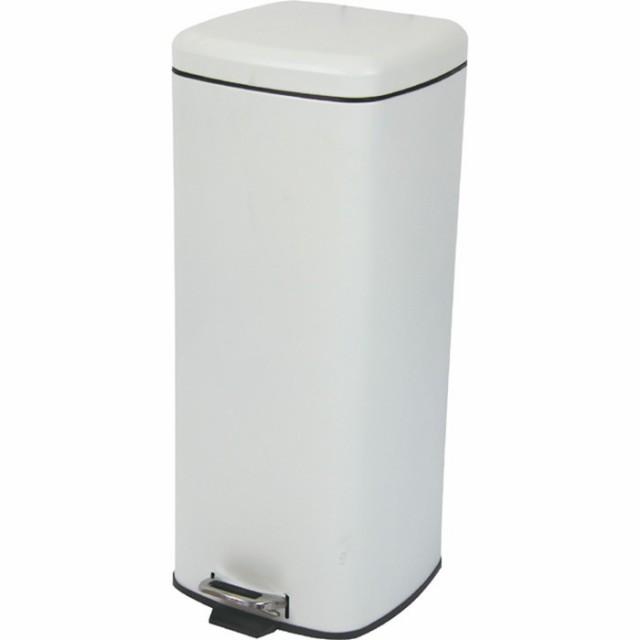 ラパン ゴミ箱 ホワイト az-lfs-072wh /ゴミ箱/分別/おしゃれ/ふた付き/屋外/キッチン/リビング/木/密閉/収納/北欧/インテリア/セール/