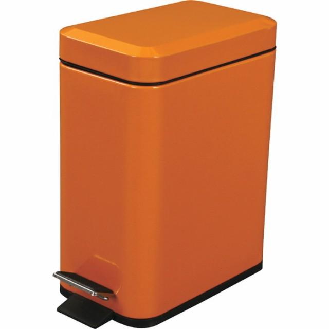 フォッサ ゴミ箱 オレンジ az-lfs-076or /ゴミ箱/分別/おしゃれ/ふた付き/屋外/キッチン/リビング/木/密閉/収納/北欧/インテリア/セール