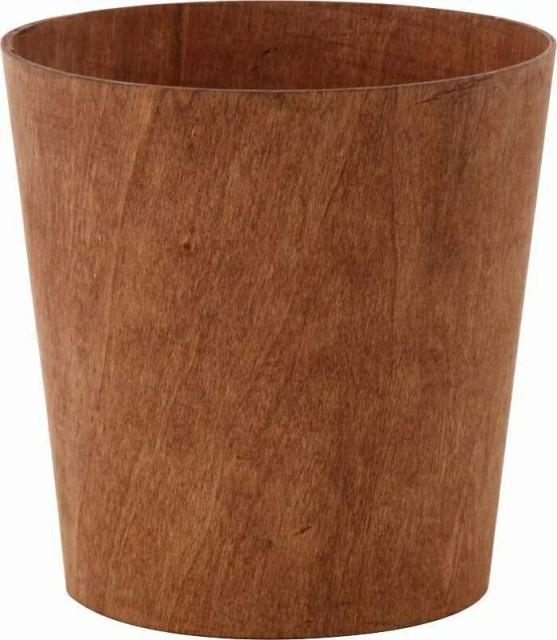 リオン ダストボックス ダークブラウン fj-30336 /ゴミ箱/分別/おしゃれ/ふた付き/屋外/キッチン/リビング/木/密閉/収納/北欧/インテリ