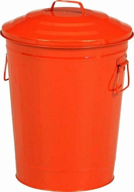 マルチダスト缶 24L レッド fj-90962 /ゴミ箱/分別/おしゃれ/ふた付き/屋外/キッチン/リビング/木/密閉/収納/北欧/インテリア/セール