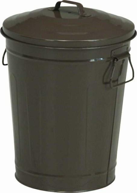 マルチダスト缶 24L ブラウン fj-90965 /ゴミ箱/分別/おしゃれ/ふた付き/屋外/キッチン/リビング/木/密閉/収納/北欧/インテリア/セー