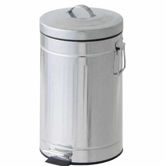 ガープ シルバー 12L az-lfs-155sv /ゴミ箱/分別/おしゃれ/ふた付き/屋外/キッチン/リビング/木/密閉/収納/北欧/インテリア/セール/モダ