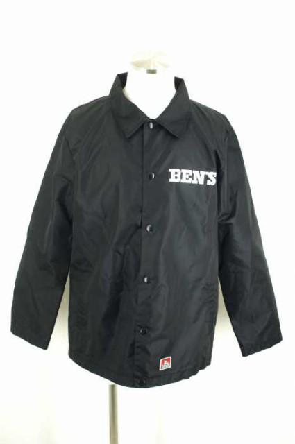 BEN DAVIS(ベンデイビス) バックプリントコーチジャケット サイズ[XL] レディース ナイロンジャケット 【中古】【ブランド古着バズストア