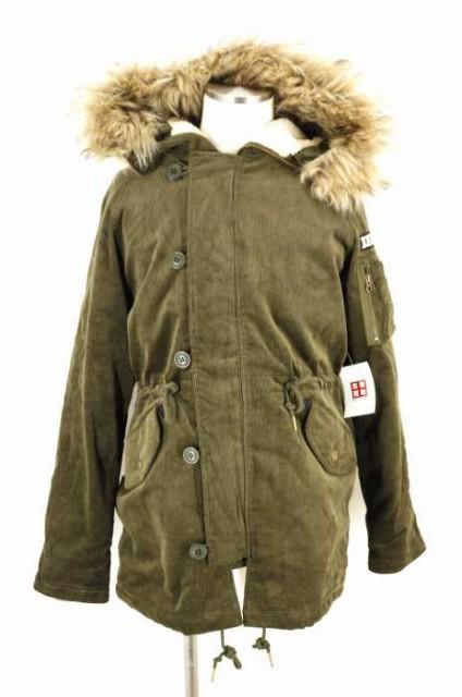 BEN DAVIS(ベンデイビス) Corduroy Boa N-3B JKT フライトジャケット サイズ[L] メンズ ミリタリージャケット 【中古】【ブランド古着バ