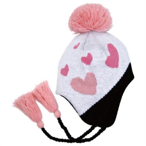 【在庫限り】ラヴィ ニューヨーク ニット帽 hat-04 ピンクハート