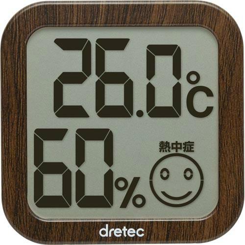 DRETEC デジタル温湿度計 ダー...