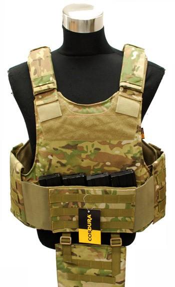 Body Armour Carrier MC (1000D) Cordura ボディ アーマー キャリアー MC サバイバル/ミリタリーSR-VT-03-MC