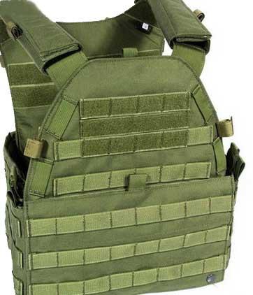 【FLYYE】MOLLE LT6094 Vest OD ベスト サバイバル/ミリタリーFY-VT-M017-OD