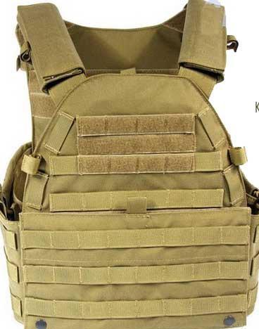 【FLYYE】MOLLE LT6094 Vest KH ベスト サバイバル/ミリタリーFY-VT-M017-KH
