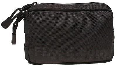 【FLYYE】Small MOLLE Accessories Pouch BK アクセサリーポーチ サバイバル/ミリタリーFY-PH-C005-BK