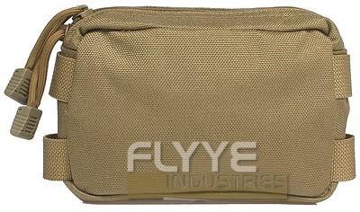 【FLYYE】Small MOLLE Accessories Pouch KH アクセサリーポーチ サバイバル/ミリタリーFY-PH-C005-KH