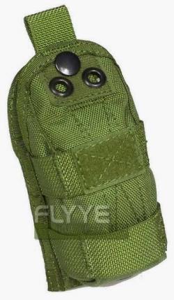 【FLYYE】MOLLE Strobe Pouch OD ストロボ ポーチ サバイバル/ミリタリーFY-PH-C014-OD