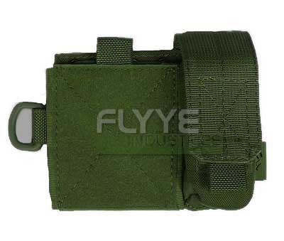 【FLYYE】MOLLE SAF Admin panel OD サバイバル/ミリタリーFY-PH-C015-OD