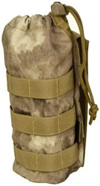 【FLYYE】MOLLE Water Bottle Pouch A-TACS ウォーターボトルポーチ サバイバル/ミリタリー FY-PH-C001-AT