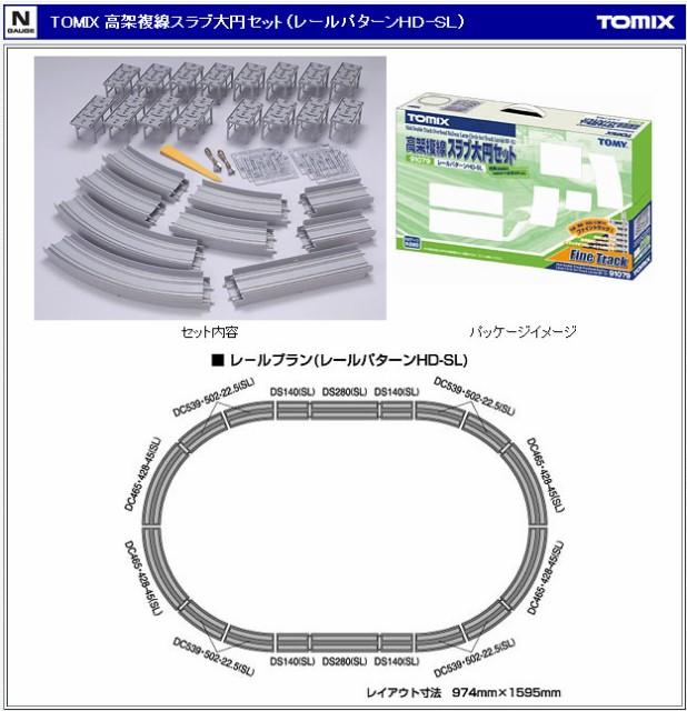 トミーテック トミックス 91079 高架複線スラブ大円セット (...