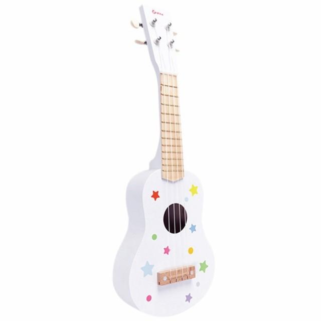 木製のギター/ウクレレキッズ男の子女の子シミュレーション楽器幼稚園玩具