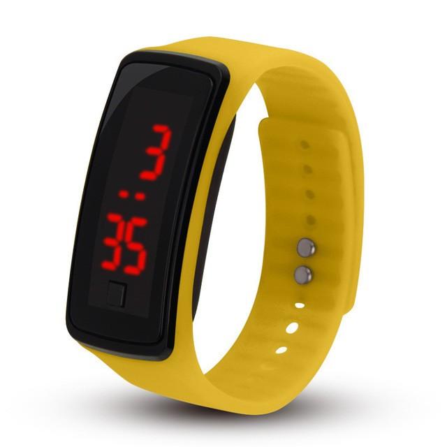 LEDの腕時計のゼリーバンド学生の腕時計の子供の男の子の女の子のための電子腕時計のギフト