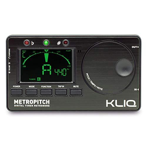特別価格送料無料KLIQ Music Gear - 全楽器用メトロノームチューナー - ギターベース
