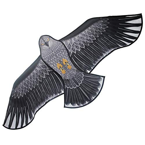 特別価格送料無料Listenman イーグルカイト 大きな鳥の凧 子供と大人用 簡単に飛ばせる