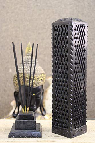 送料無料 KC KULLICRAFT 大理石ソープストーン 手彫り お香炉キャンドルホルダー ホームキッ