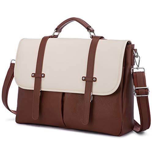 新品送料無料ノートパソコン用バッグ 女性用 156インチ レザー製 コンピューターバッグ