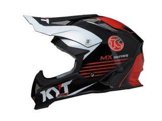 KYT STRIKE EAGLE K-MX シリーズ カラー:ホワイト/レッド サイズ:XXL/63cm